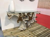 Joenfa: Naga white: консоль  (natural wood)
