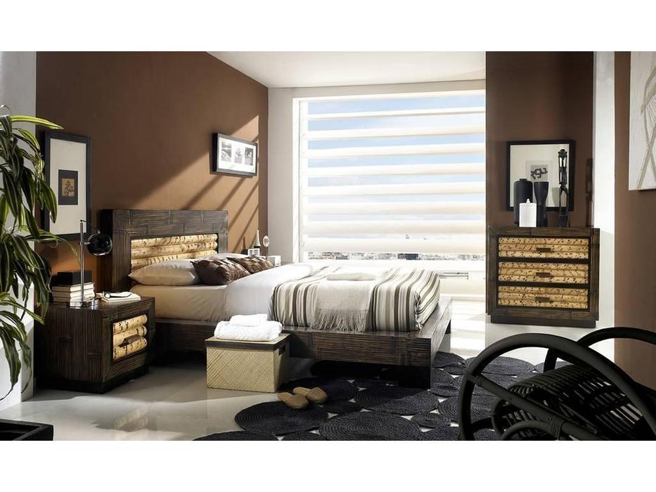 спальня колониальный стиль