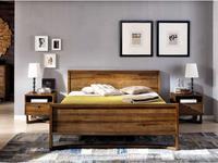 Joenfa: Calvin: кровать 160х200  (teak)