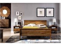 Joenfa: Calvin: кровать 180х200  (teak)