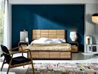 Joenfa: Arron: кровать 160х200  (teak, oak)