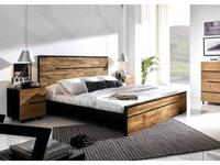 Joenfa: Avana: кровать 160х200  (teak, mahogany black)