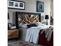Joenfa: Maze: изголовье кровати  160 (root teak, mahogany black)