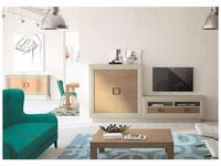 5205830 стенка в гостиную La Ebanisteria: Nordik