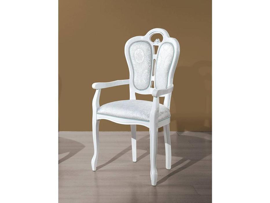 H2O design: Giglio: кресло (белый, серебро)