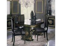 H2O design: Росселла: стул (черный с золотом)