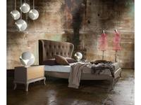 La Ebanisteria: Nite Nite: кровать 160х200  (chocolate, London 4)