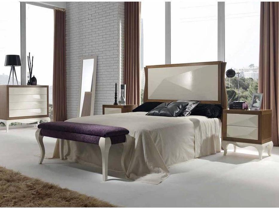 Condor: Alejandra: спальная комната (орех, крем)