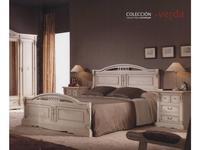 Condor: Verda: кровать 180х200  (белый, серебро)