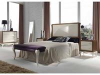 Condor: Alejandra: кровать 180х200  (орех, крем)