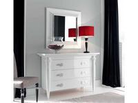 Condor: Siena: зеркало для комода   (белый лак)