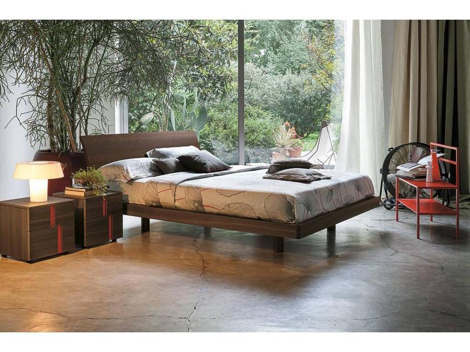 Tomasella: Clio: кровать 160х190  (rovere termocotto)
