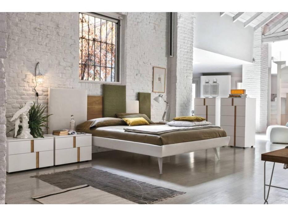 Tomasella: Skyline: кровать 160х190  (ткань)