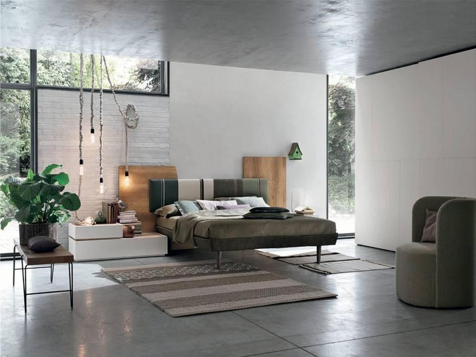 Tomasella: Diagonal: кровать 160х190  (ткань)