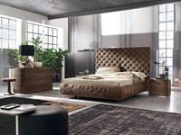 Tomasella: Chantal: кровать  180х200 с подъемным мех-м (кожа)