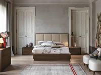Tomasella: Prestige: кровать 160х200  (rovere termocotto)