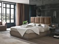 Tomasella: Prestige: кровать  180х200 с подъемным механизмом (frassino cenere)