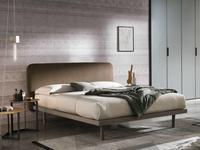 Tomasella: Milly: кровать 160х200  (nodato chiaro)