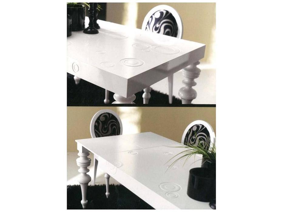 Anzadi Анзади: Calipso wood: стол обеденный раскладной Калипсо  (белый)
