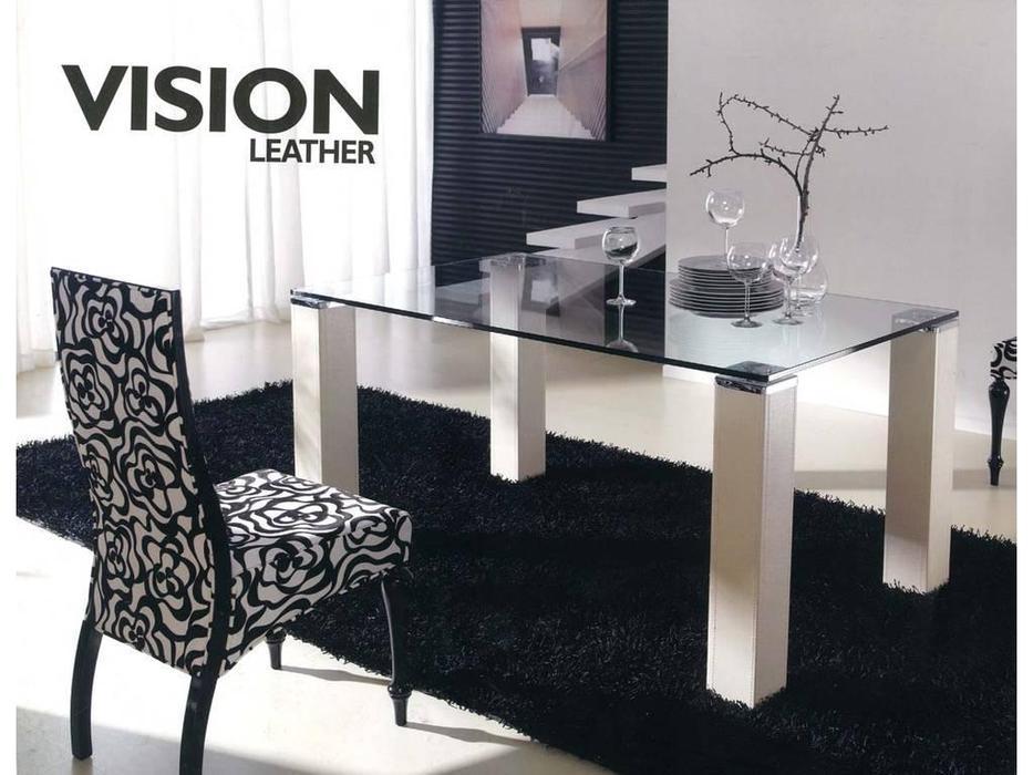 Anzadi: Vision leather: стол обеденный Вижон