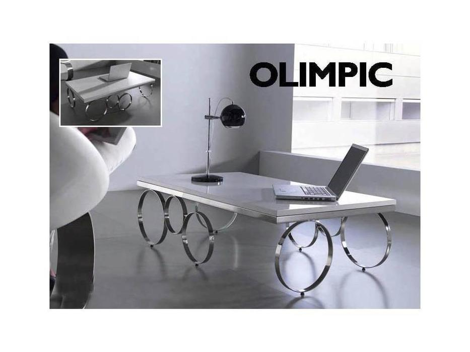 Anzadi Анзади: Olimpic: стол журнальный Олимпик  (белый)