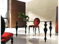 Anzadi Анзади: Retto glass: стол обеденный Ретто