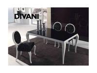 5112950 стол обеденный Anzadi: Divani glass