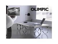 Anzadi: Olimpic: стол журнальный Олимпик  (белый)
