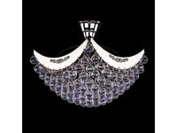 Artglass: люстра FIONA II (никель) 4x40 W