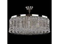 Artglass: люстра PERSIDA (никель) 10x40 W