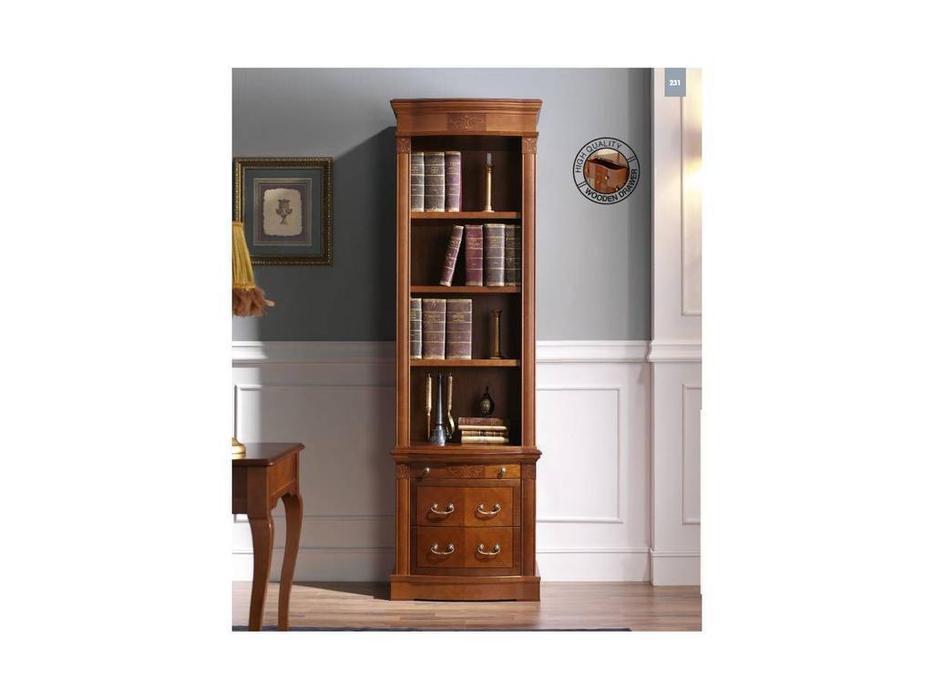 Panamar: шкаф книжный  (орех)