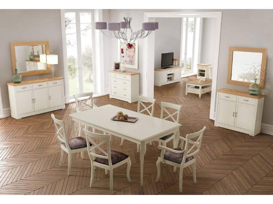 Panamar: гостиная (белый, дуб)