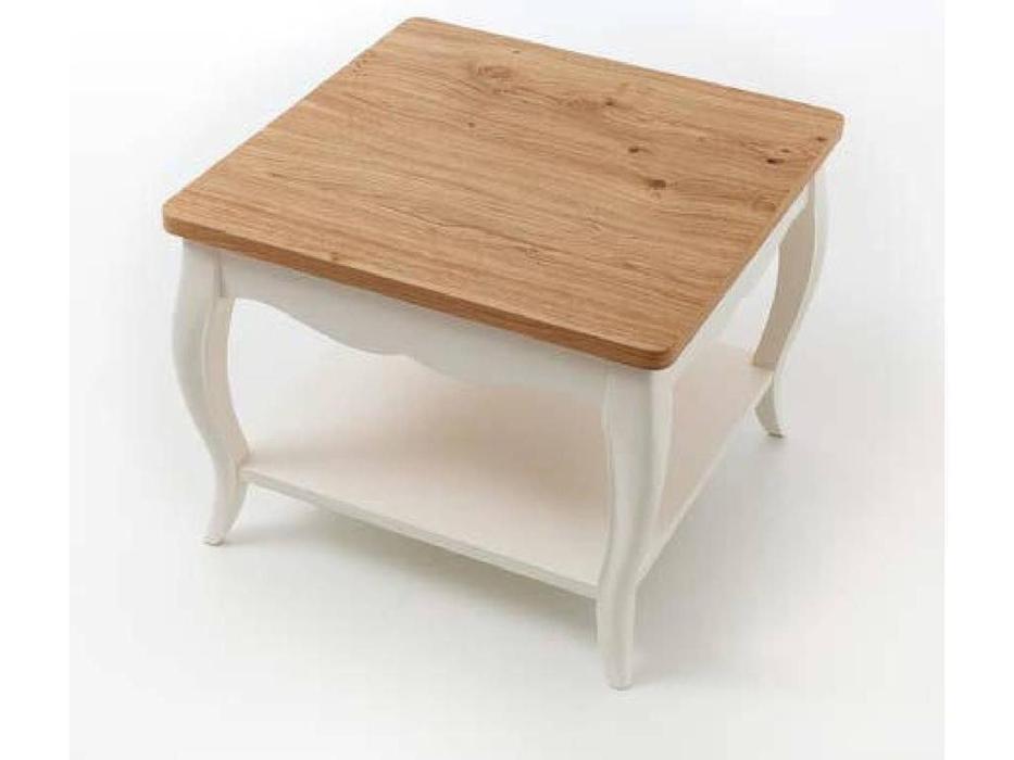 Panamar: стол журнальный  (белый, дуб)