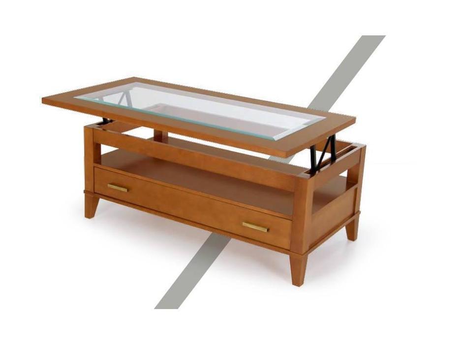 Panamar: стол журнальный-трансформер  (орех)