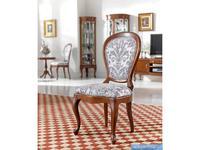 Panamar: стул  (орех, ткань)