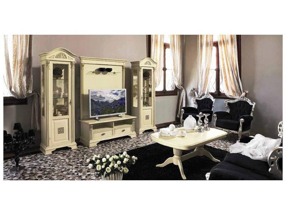 Claudio Saoncella: Puccini: гостиная (белый, золото)