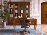 Claudio Saoncella: Puccini: стол письменный с 4ящ  (вишня)