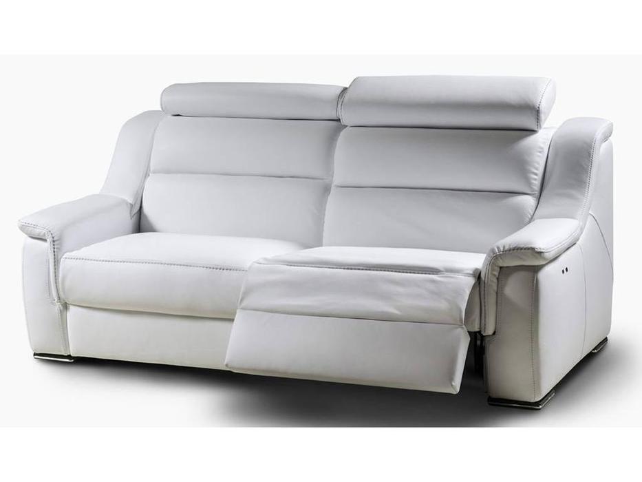 Nieri: Lipari: диван 3-х местный с реклайнером (кожа)