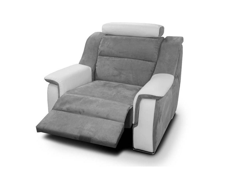 Nieri: Lipari: кресло с реклайнером (кожа, новабук)