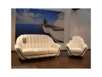 Nieri: Pompei: диван 3-х местный раскладной кожа