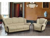 Nieri: Palatino: диван 3-х местный раскладной ткань кат. C (Castle col.65 L 28 OP)