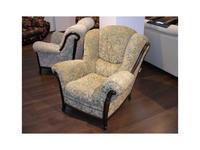 Nieri: Palatino: кресло ткань кат. C (Castle col.73 L 28 OP)