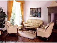 Nieri: Victoria: диван 3-х местный кожа
