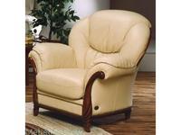 Nieri: Victoria: кресло кожа