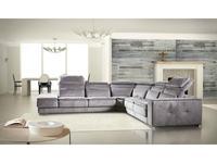 Nieri: Madison: диван угловой с реклайнером