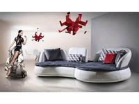 Nieri: Kosmos: диван угловой (кожа, новабук)