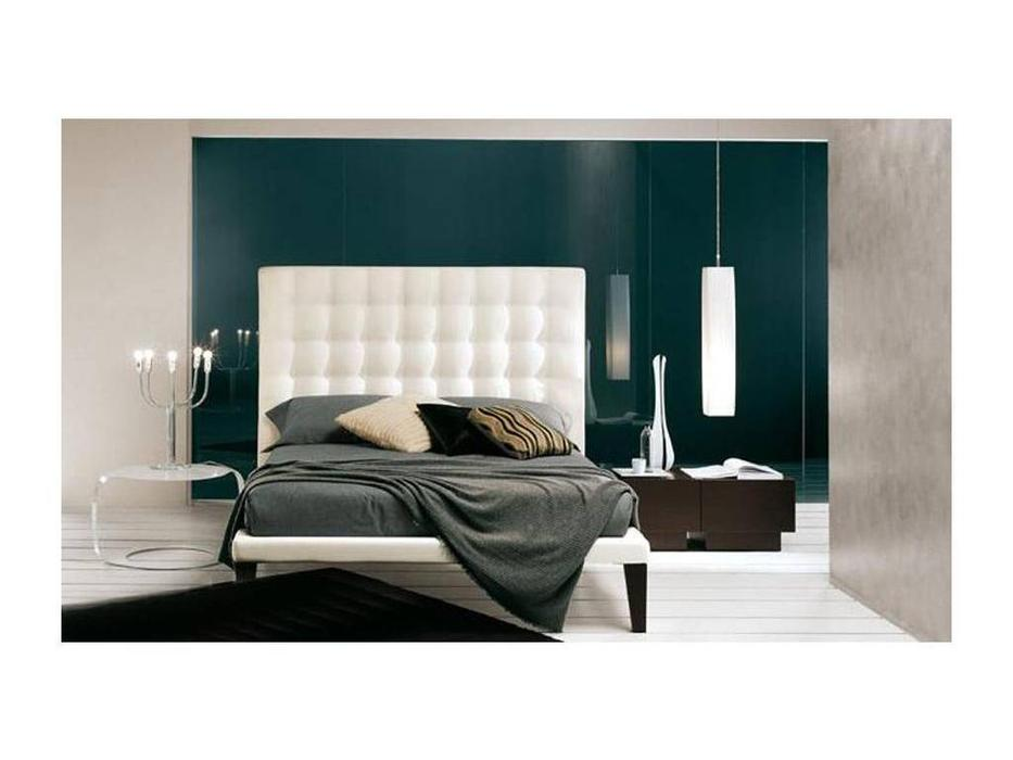 Bolzan: Zen: кровать 160х200 изголовье высокое  ткань кат.С