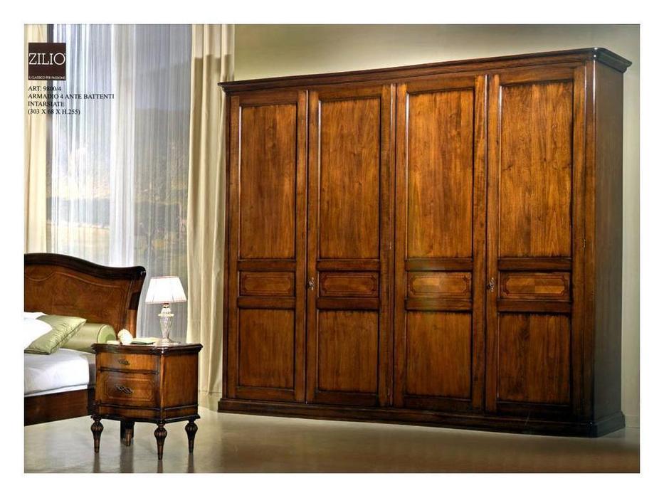 Zilio: Gioconda: шкаф 4-х дверный Джоконда  (орех)
