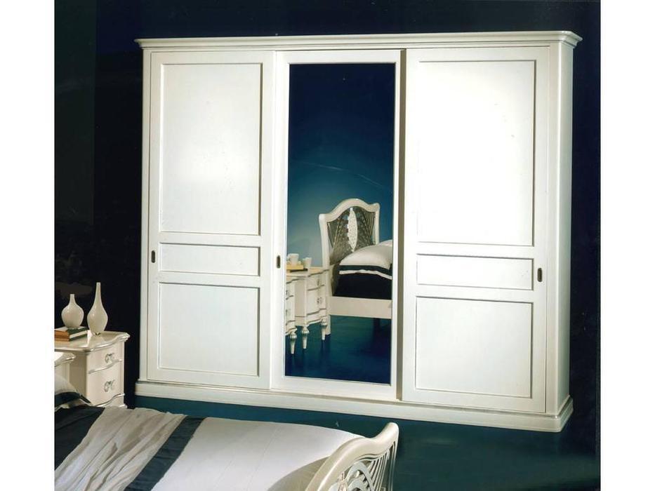 Zilio: Gioconda: шкаф-купе 3-х дверный Джоконда с зеркалом  (беж)