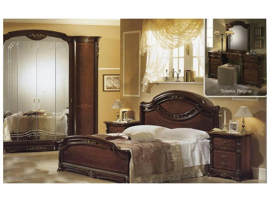 MobilPiu: Регина: кровать 180х200 (орех)